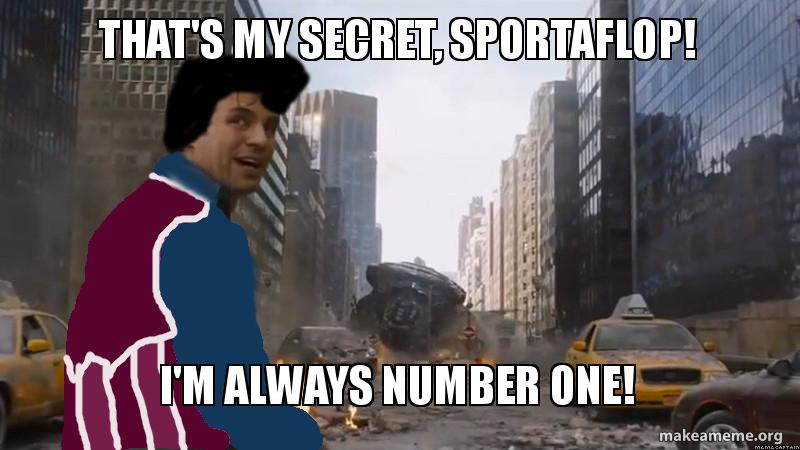 That's My Secret, Sportaflop! by thedarkness990