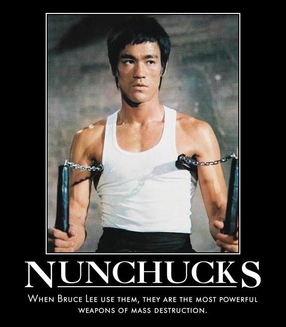ผลการค้นหารูปภาพสำหรับ bruce lee nunchucks