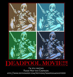 Help the Deadpool Movie by MexPirateRed
