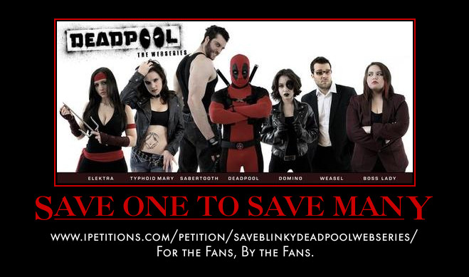 Save Deadpool, Save The Fanworks by MexPirateRed