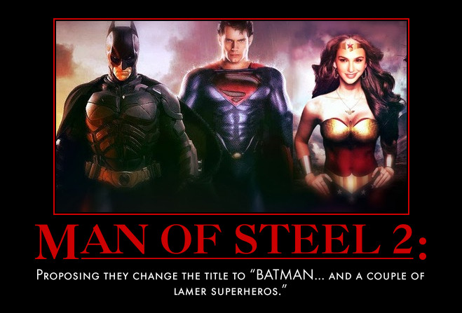 Man of Steel Sequel New Name by MexPirateRed