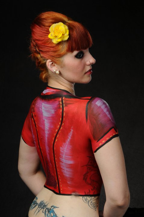 Body paint by EmptinessInfernal