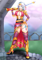 Lian from Paladins by Extroy-JD