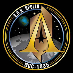USS Apollo, NCC-1535 Patch