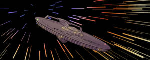 The USS Apollo at TOS Warp by Axanar-Comics