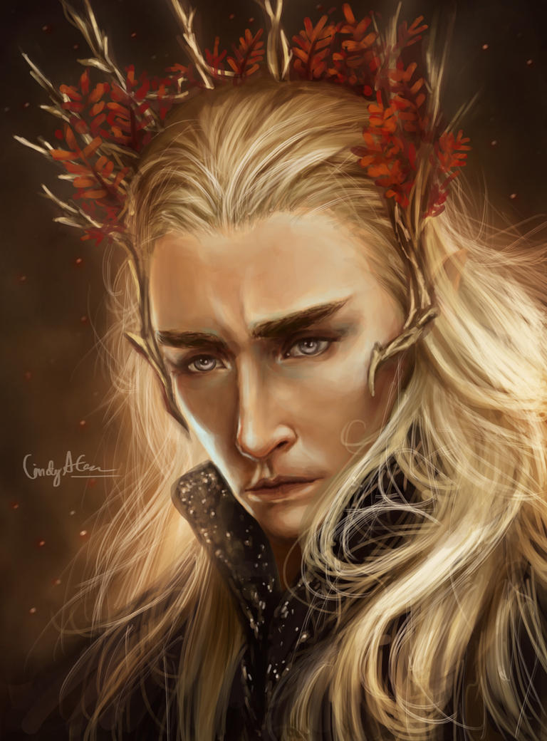 Thranduil by Amourinette