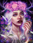 Fantasy Self Portrait by Amourinette