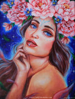 Fuchitas (oil painting) by Amourinette
