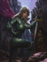 Knight by BenHarrisArt