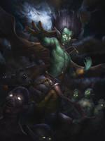 Summon Thralls by BenHarrisArt