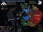 Map of the Homeworld Universe