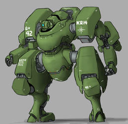KR-14A Kelleg MP type by Norsehound