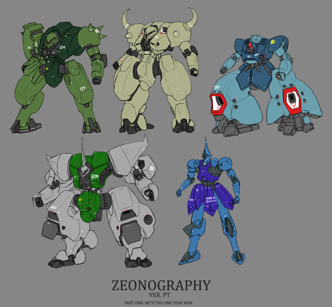 Zeonography 1 by Norsehound