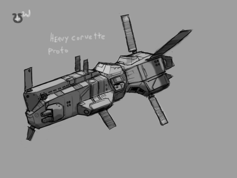 Somtaaw Heavy Corvette by Norsehound