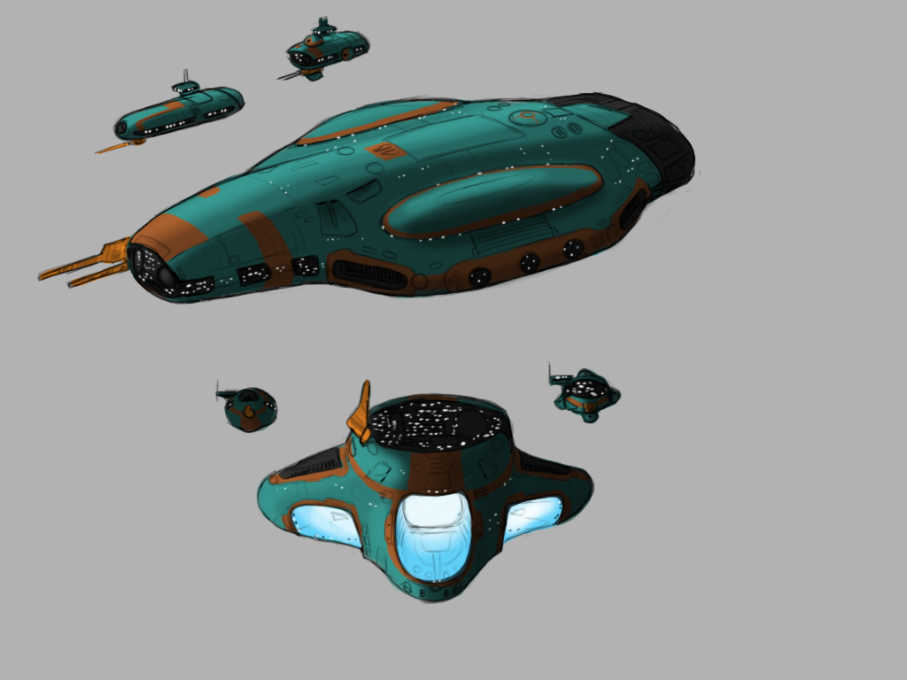 Imperial Kushan Carrier by Norsehound