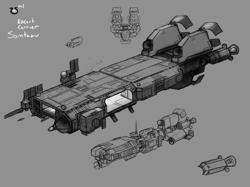 Somtaaw Escort Carrier by Norsehound