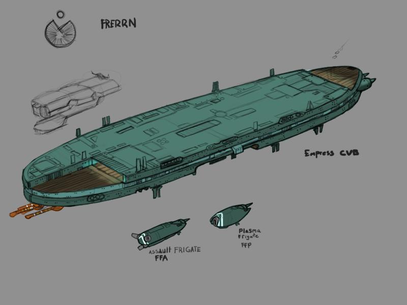 Frerrn Empress class Carrier by Norsehound