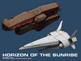 Horizon of the Sunrise Cruiser by Norsehound