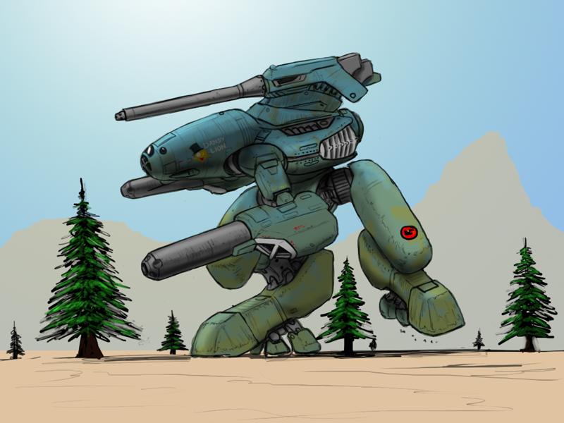 MAD-3R Marauder by Norsehound