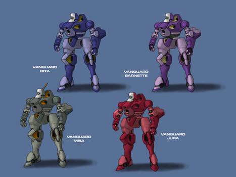 Main character Vanguards