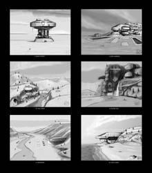Landmarks - Week I - Exile by Norsehound