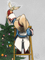 Final Fantasy XMas 2010 by Norsehound