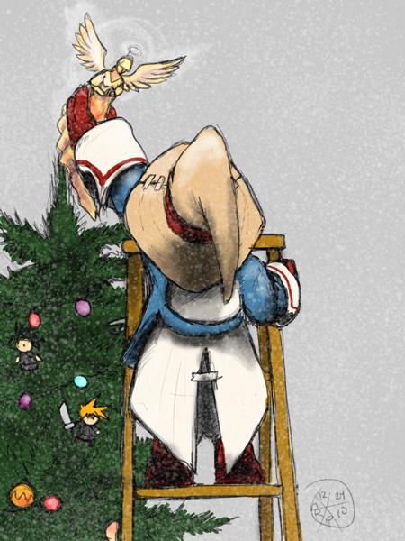 Final Fantasy Christmas.Final Fantasy Xmas 2010 By Norsehound On Deviantart
