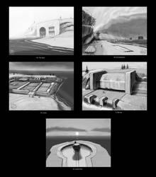 Landmarks - Week -  2 by Norsehound