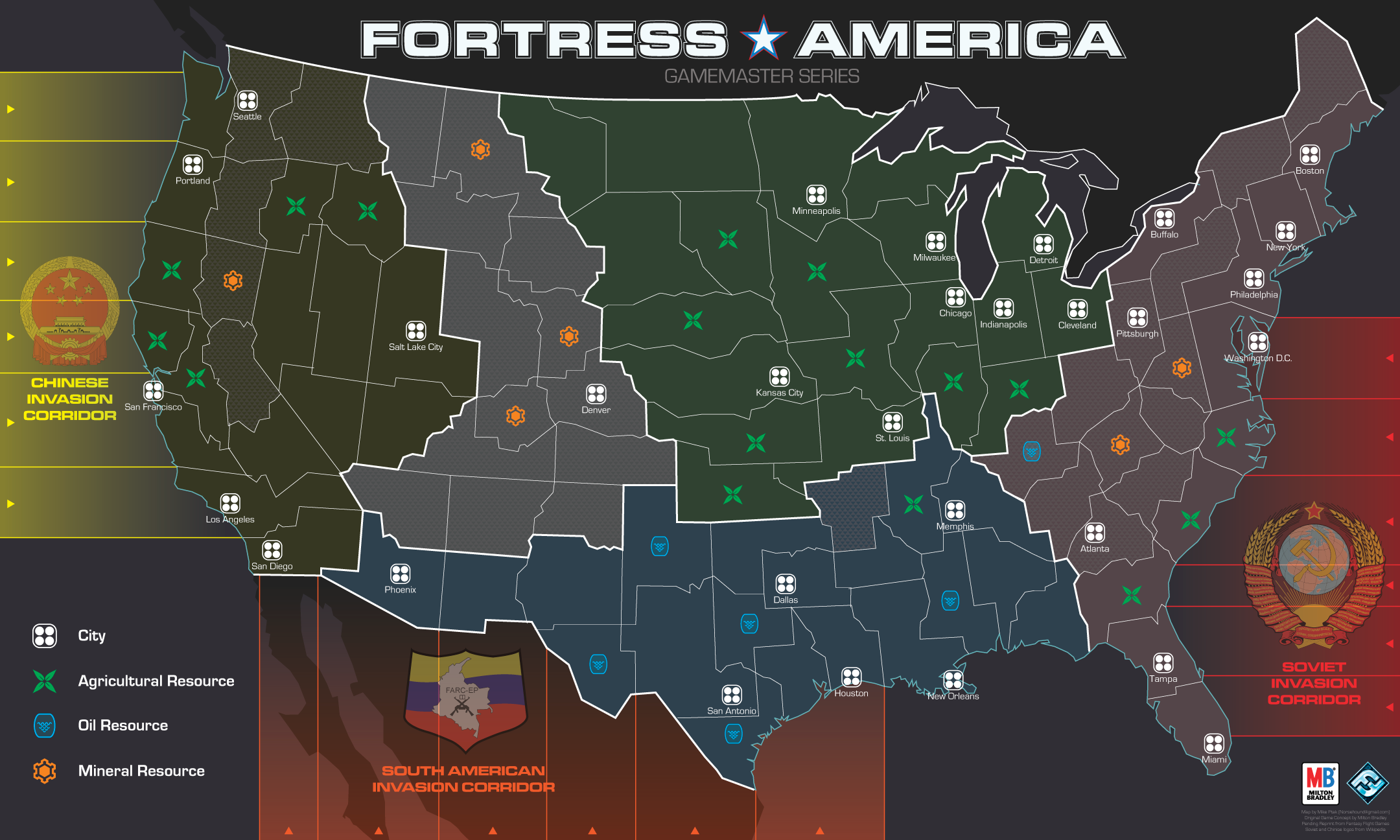 Fortress: America Map by Norsehound on DeviantArt