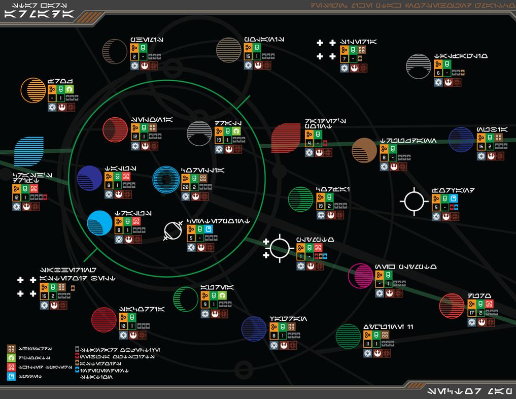 SW: Armada - Corellian Conflict Map DKAr ver by Norsehound