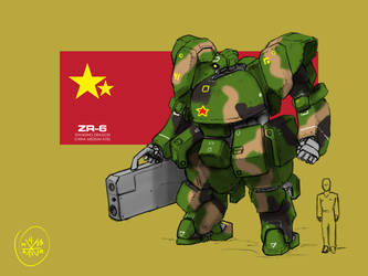 Chinise-ZR-6-Standing-Dragon by Norsehound