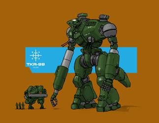 TKR-99 Kaijin by Norsehound
