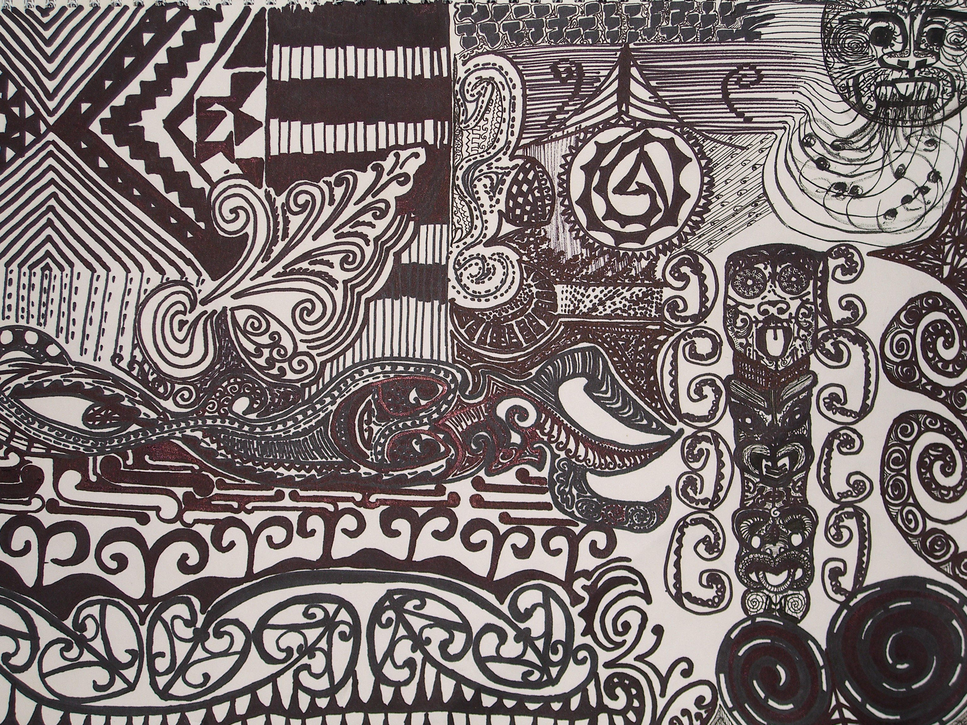 maori art iphone wallpaper - photo #2