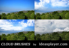 Cloud Brushes by PetyaPlamenova