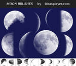 Free Moon Brushes