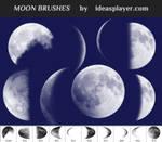 Free Moon Brushes