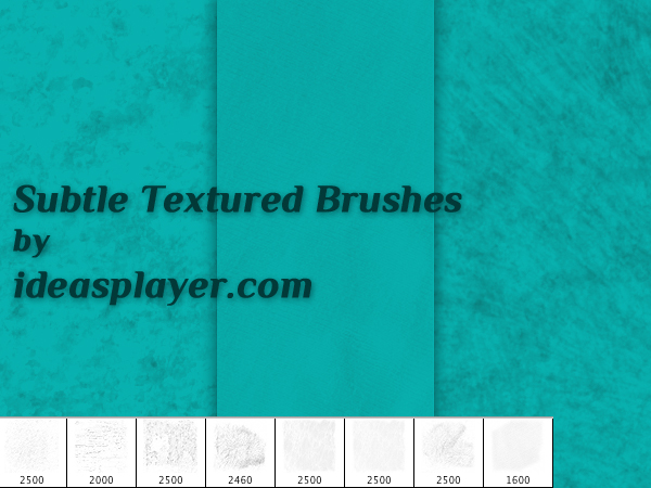 Subtle Textured Ps Brushes by PetyaPlamenova