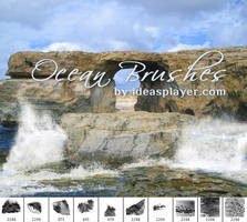 Ocean Photoshop Brushes by PetyaPlamenova