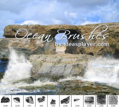 Ocean Photoshop Brushes
