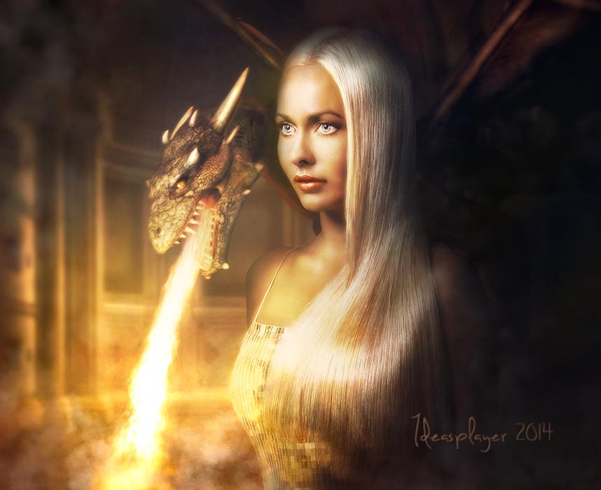 Mother of Dragons by PetyaPlamenova