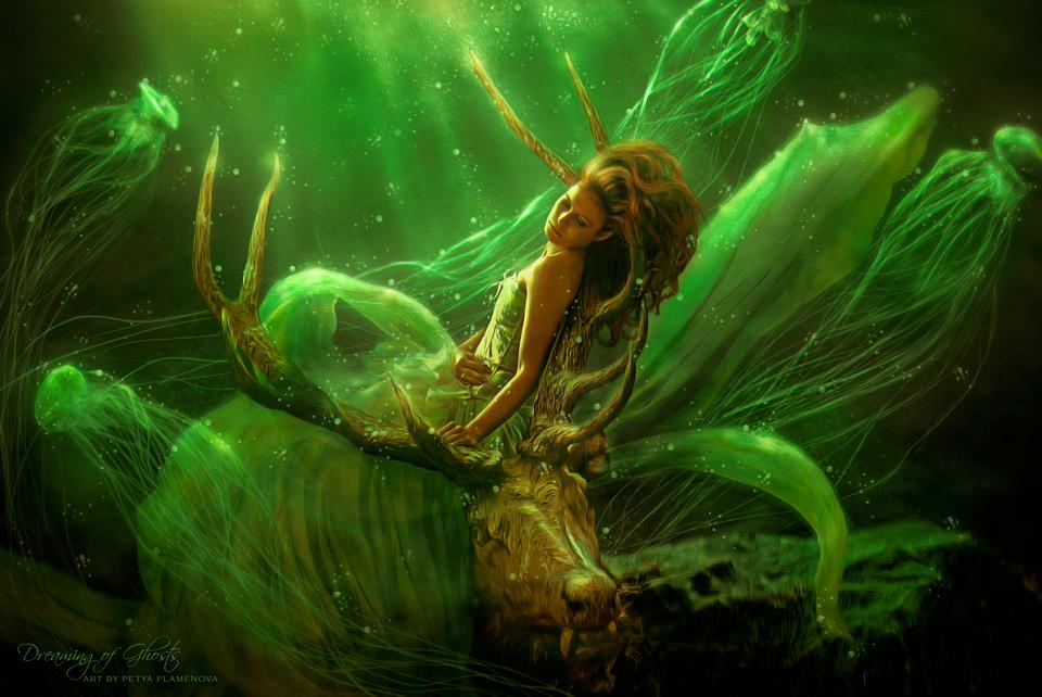 Dreaming of Ghosts by PetyaPlamenova