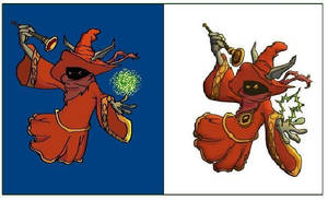 Orko from HE MAN