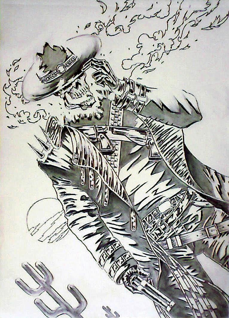 GhostRider-Wild West by mindsetteler on DeviantArt