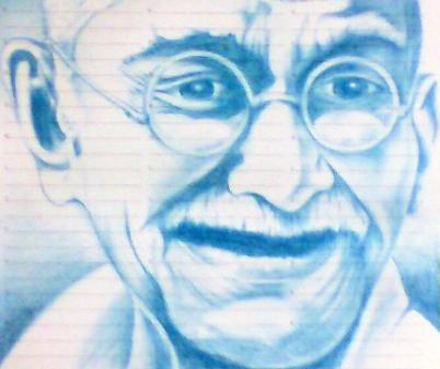 Gandhi by mindsetteler