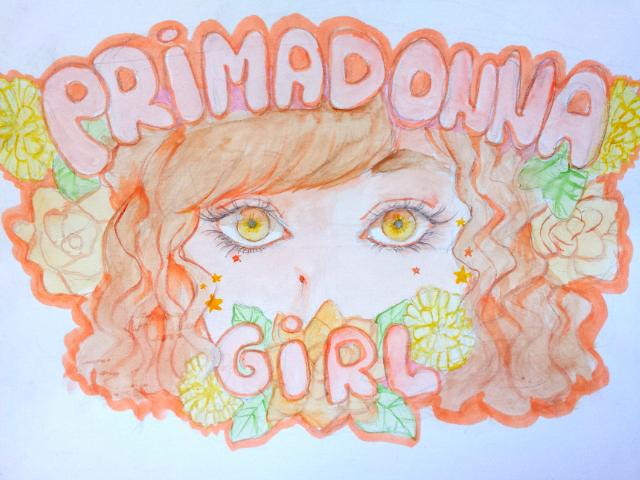 Primadonna Girl by SaraWindArt