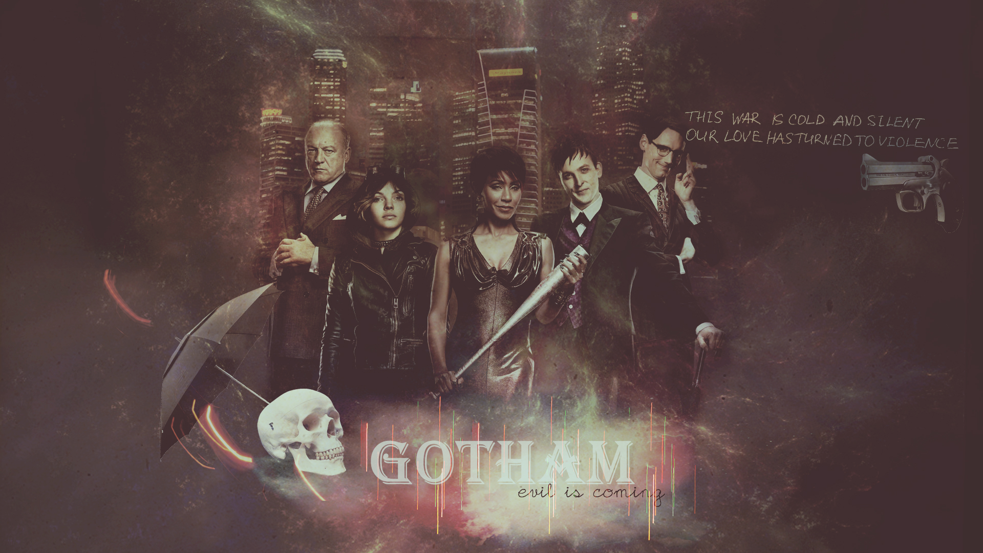 Gotham - Evil is coming by pounkska