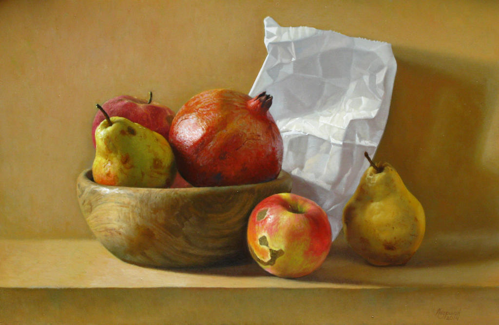 Still-Life With Fruits by andrianart on DeviantArt