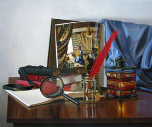 Light From Vermeer by andrianart