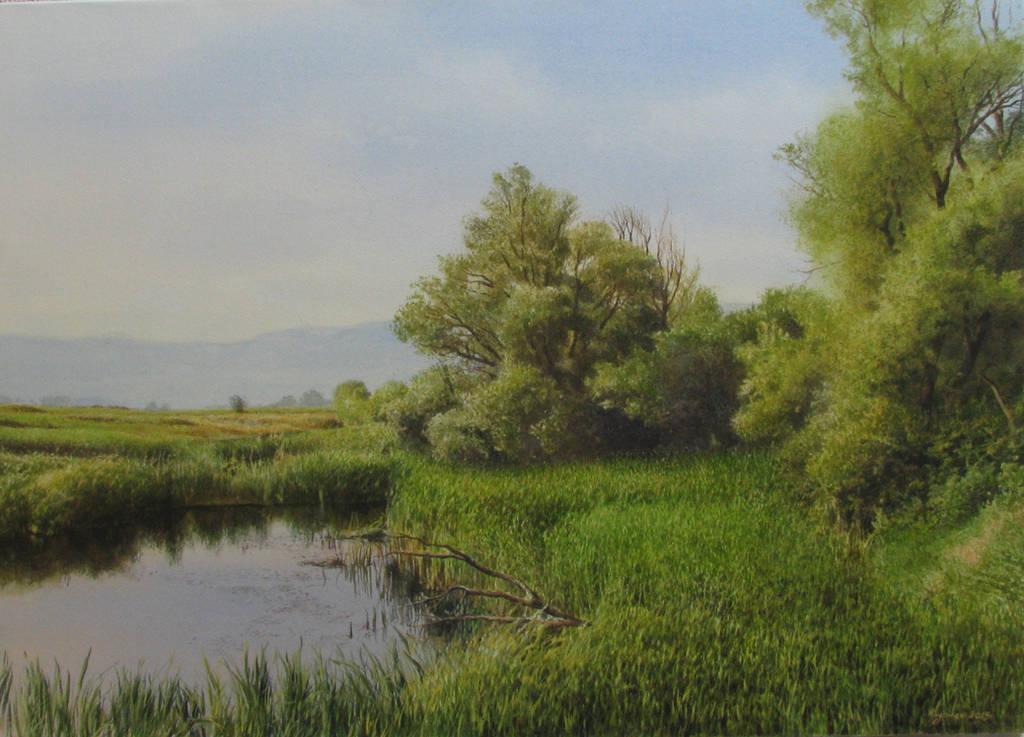 At The Lake by andrianart