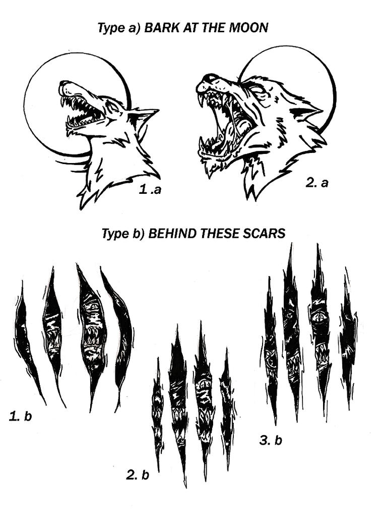 Wolf Tattoo by Jok18 on DeviantArt